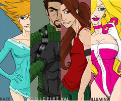 Sidekick Girl Bookmarks by Superfluous-Lore