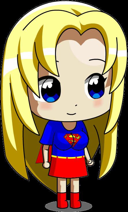 Chibi Ucogi Supergirl by jimmy500 on deviantART