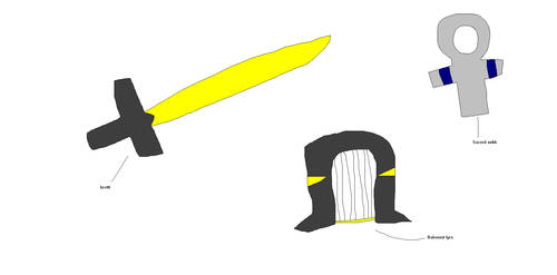 Bahamut Suit Weapons by anubisH55513