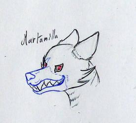 Nightmarish fox animatronic sketch by anubisH55513