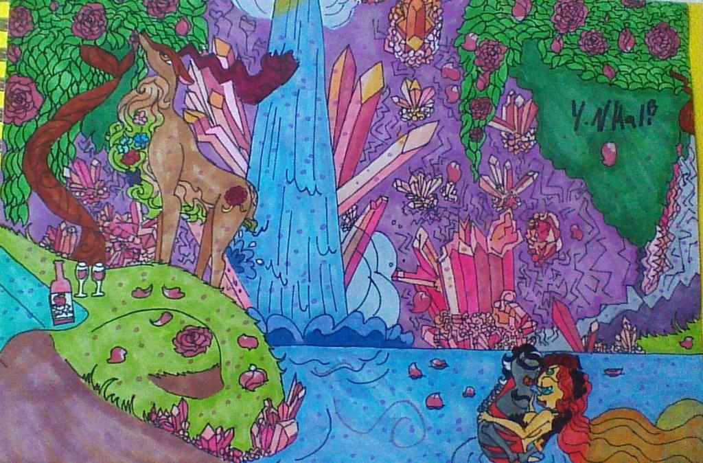 Rose's Oceania by Kaliko08