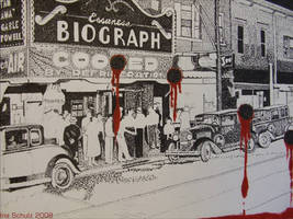 Chicago - July 22, 1934  -WIP- by shaman-art