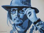 Johnny Depp - Shades Of Blue