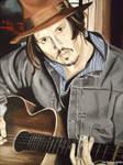 Johnny Depp - Guitar Man