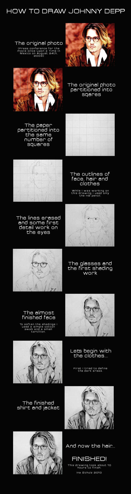 How To Draw Johnny Depp by shaman-art