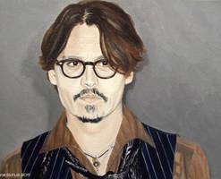 Johnny Depp - Paris 2011 by shaman-art