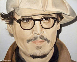 Johnny Depp - Paris 2011 - 2 by shaman-art