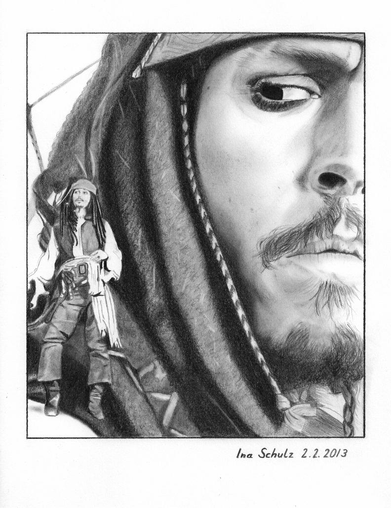 Johnny Depp - Multiple Jacks by shaman-art
