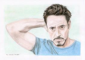 Robert Downey Jr. by shaman-art