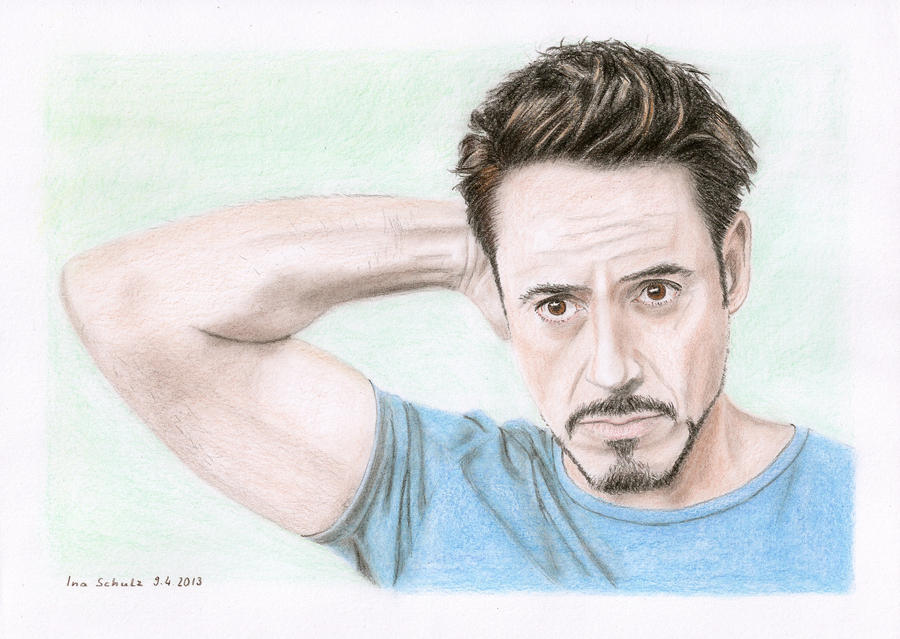 Robert Downey Jr. by shaman-art