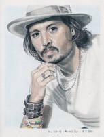 Johnny Depp 2006 by shaman-art