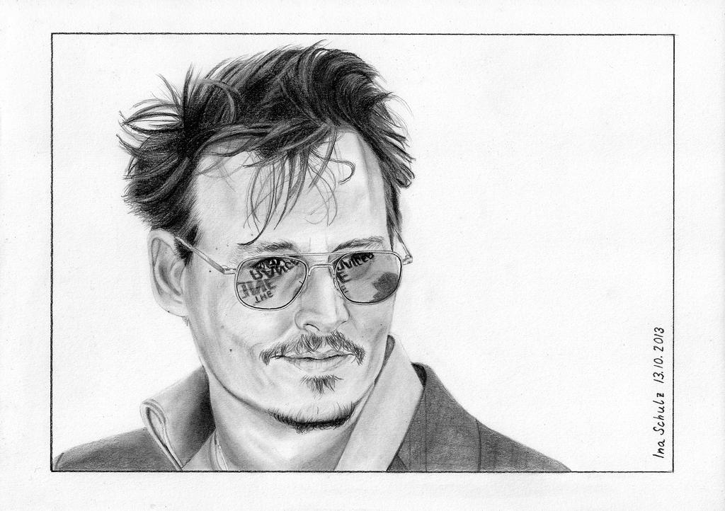 Johnny Depp - London 2013 by shaman-art