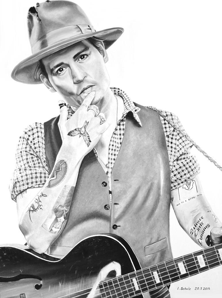 Johnny Depp - Early Days by shaman-art