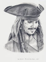 Johnny Depp - Jack - POTC 5 by shaman-art