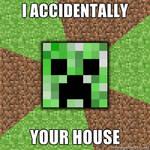 Minecraft Creeper Meme