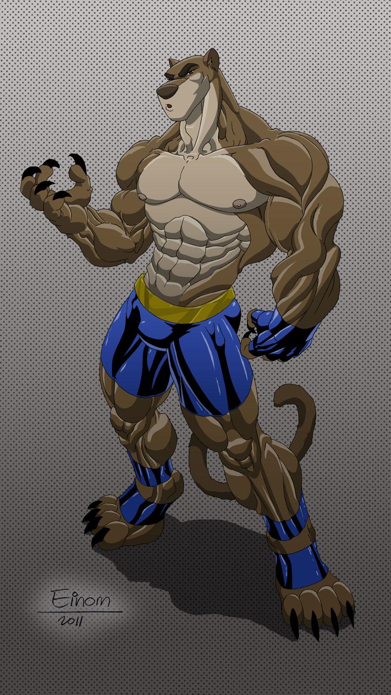 Kickslash panther by Einom