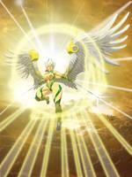 commission Tyra angel by Einom