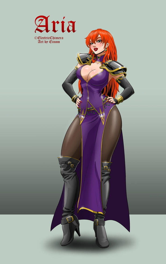 Deviantart Character Design Commission : Commission character design aria by einom on deviantart