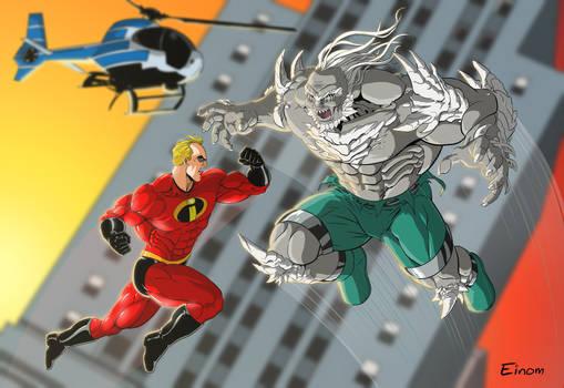Mr Incredible vs Doomsday