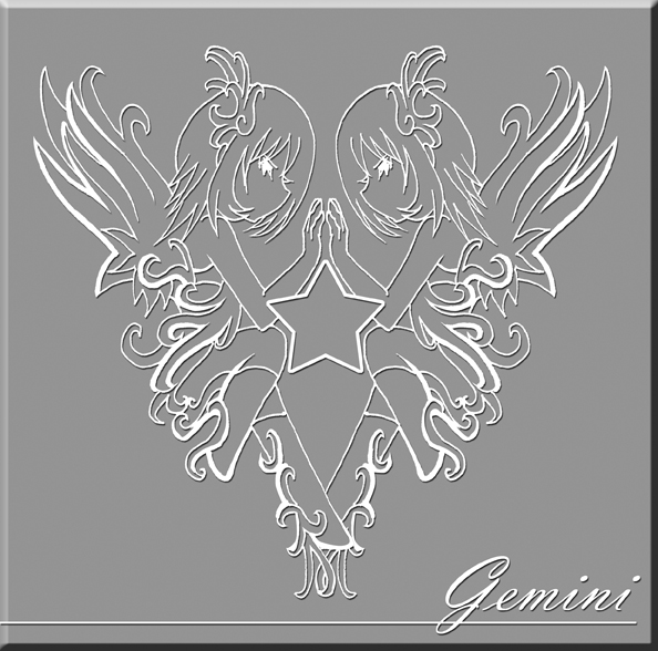 GEMINI SIGIL by Bob-Raigen