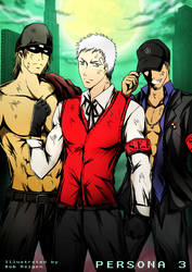 Persona 3 Guys in Dark Hour