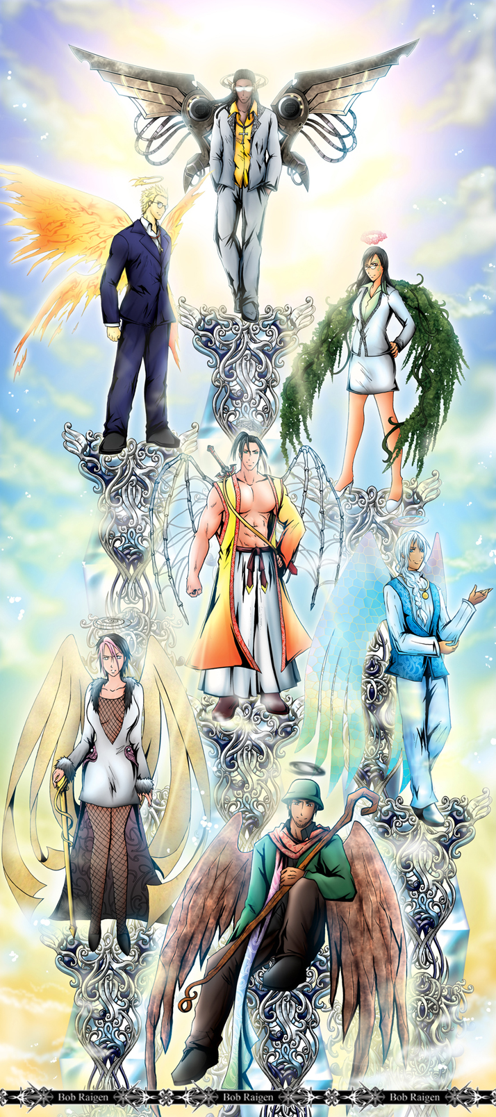 The Seven ArchAngels and ArchDemons  Mortal Temptation