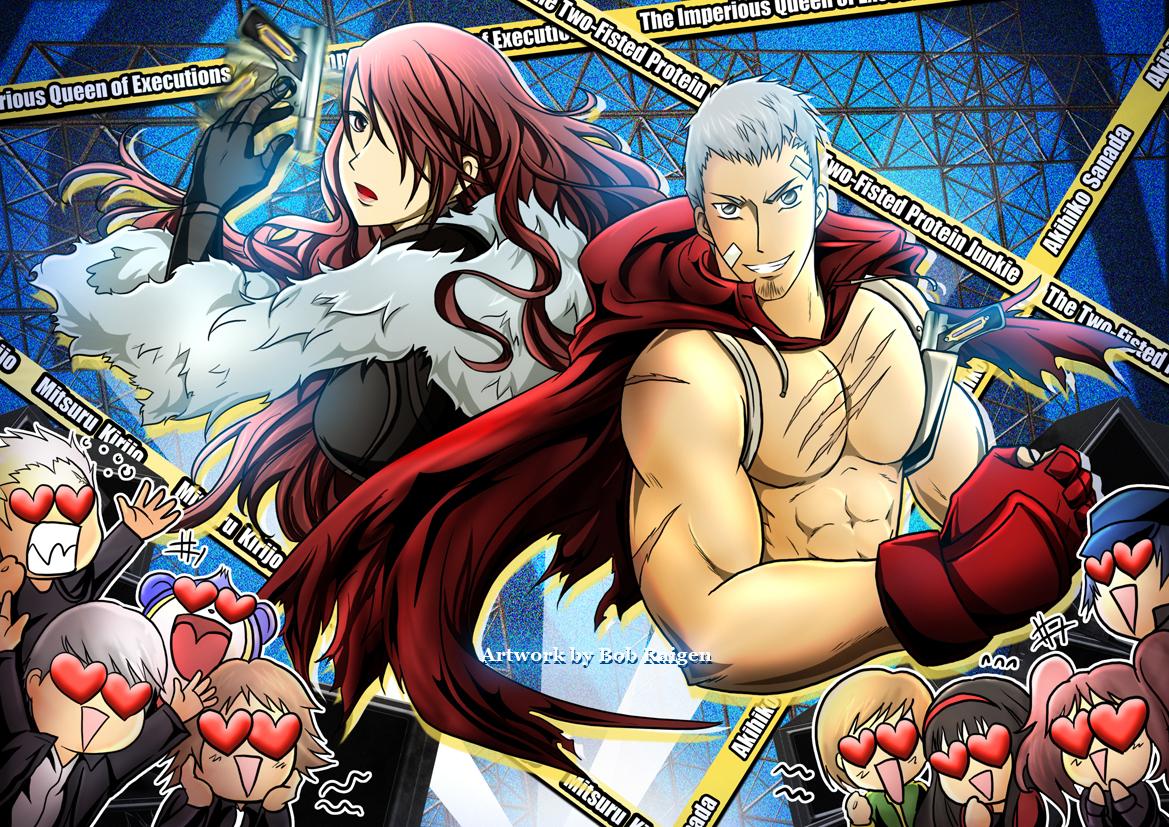 PESONA 4 : Mitsuru and Akihiko by Bob-Raigen