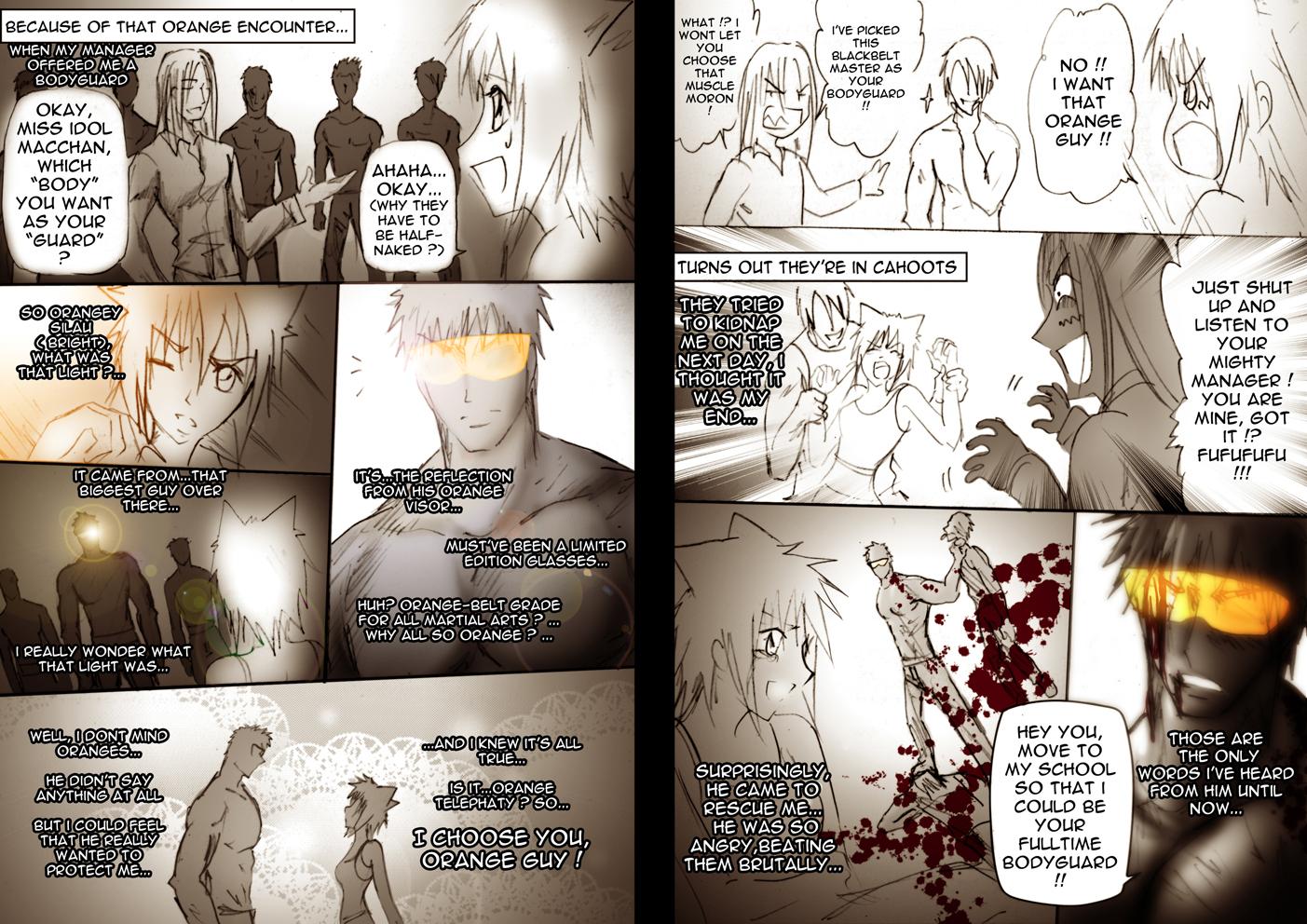 CR: ORANGE and YOU page 3-4 by Bob-Raigen