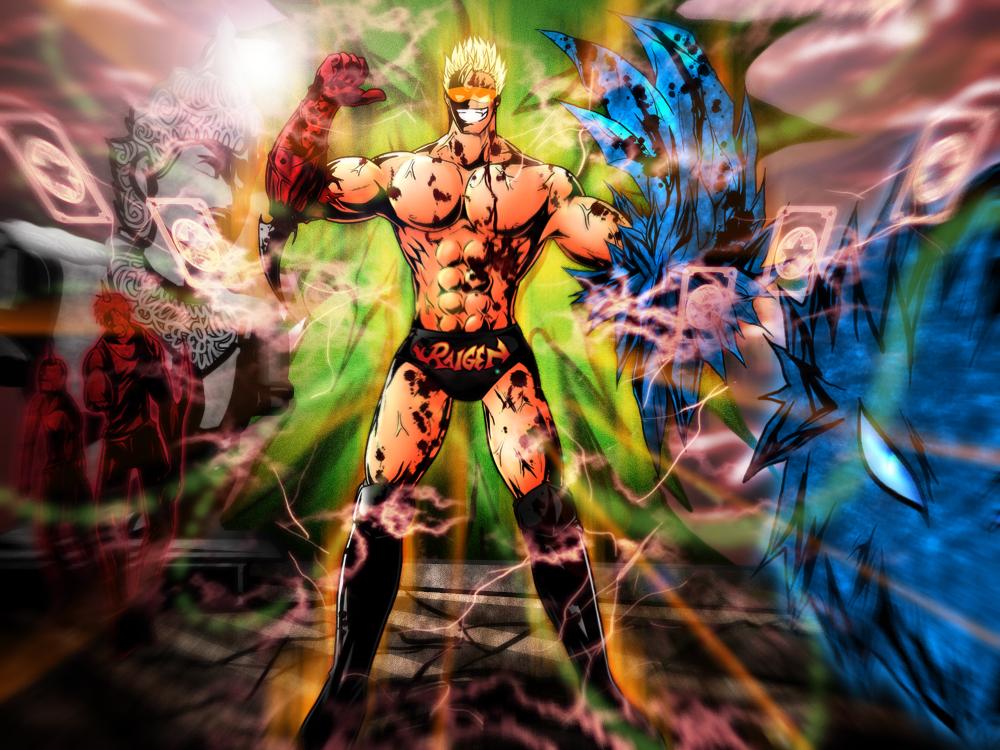 CR: Last Stage:Outbreak - Orange Power...Muscle Up by Bob-Raigen