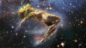 Woman Nebula by Bonjoer