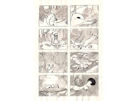 Canopy Escape storyboard by Bonjoer