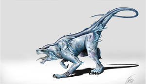 Coastal Dragon by Bonjoer