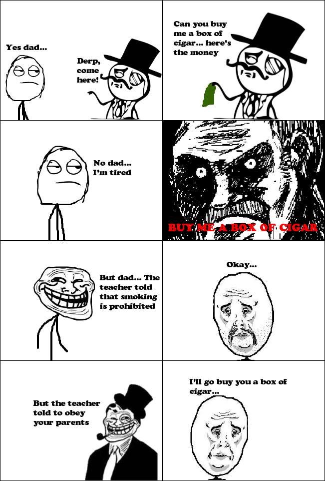 Troll Dad Comics
