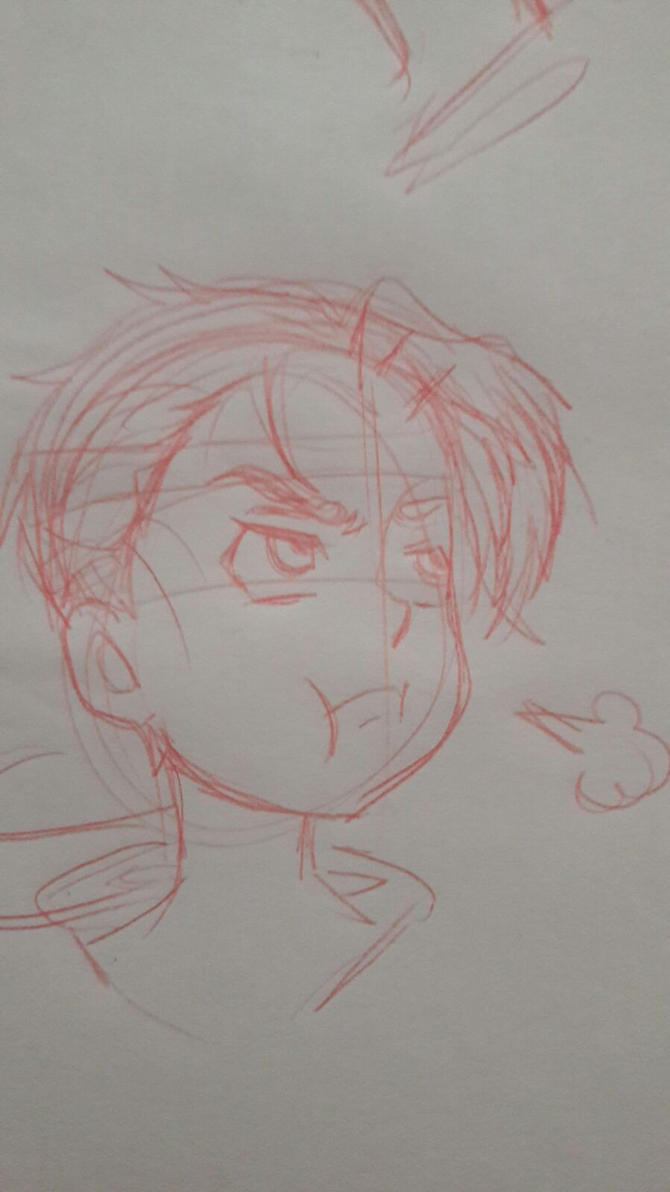 Franklin Delacroix Sketch #4 by Retsumon