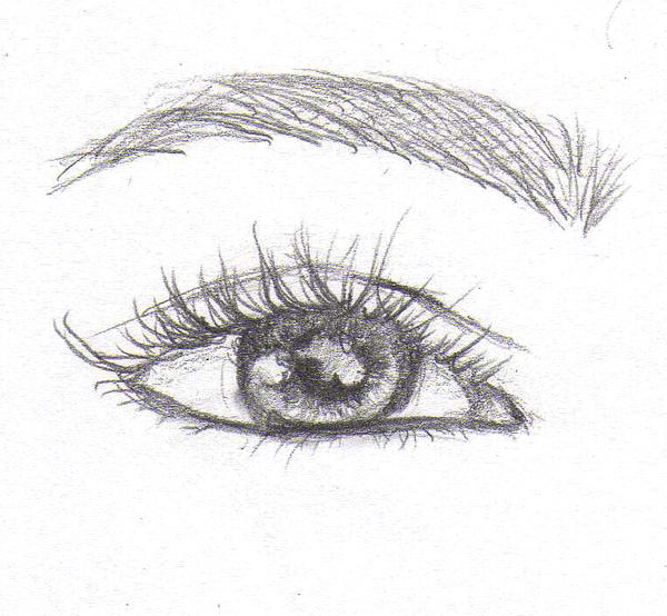 Drawing Practice - Eye by silber-englein