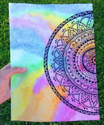 Mandala by bohemiancolour
