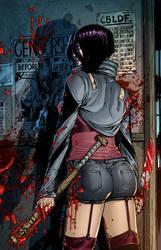 Hack Slash Resurrection #12 by CarlosMorenoD-Art