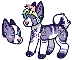 Dog Adopt: CLOSED by Metals-Adopts