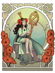 Princess Ozma Tippetarius of Oz by sparkyrabbit