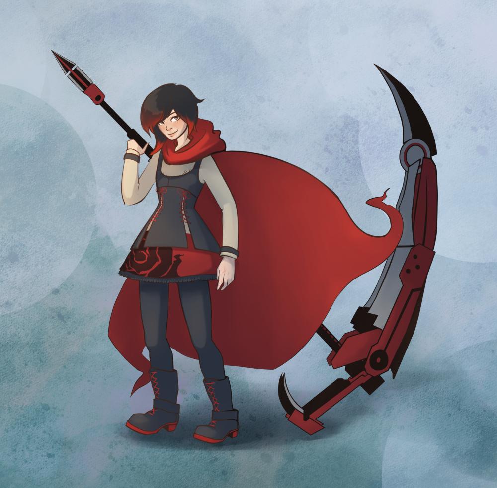 Ruby Rose by sparkyrabbit