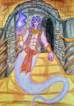 {Julius the Ghost Genie}