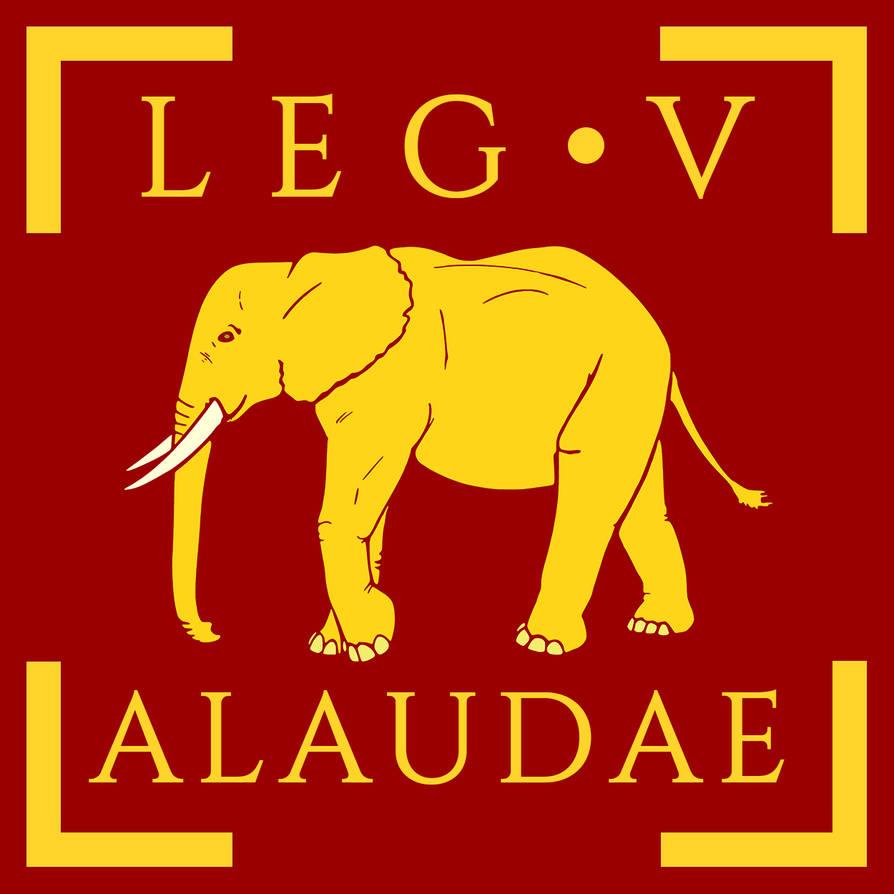 35d55ff4b57 Legio V Alaudae vexillum by Aquelion on DeviantArt
