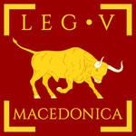 Legio V Macedonica vexillum
