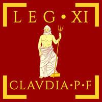Legio XI Claudia Pia Fidelis vexillum by Aquelion