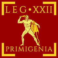 Legio XXII Primigenia vexillum by Aquelion