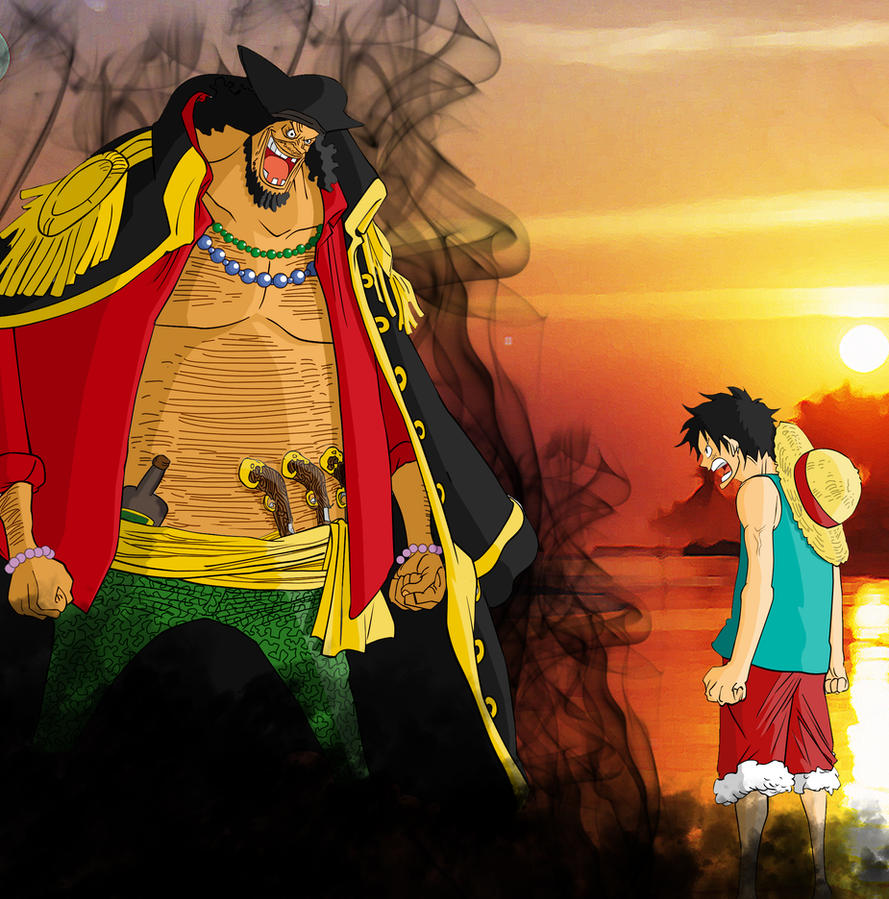 Blackbeard And Luffy: Rufy Vs Marshall D. Teach By Grivitt On DeviantArt