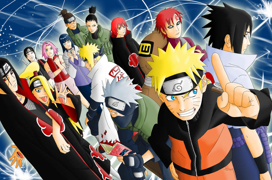 Naruto Characters Ranking By Grivitt