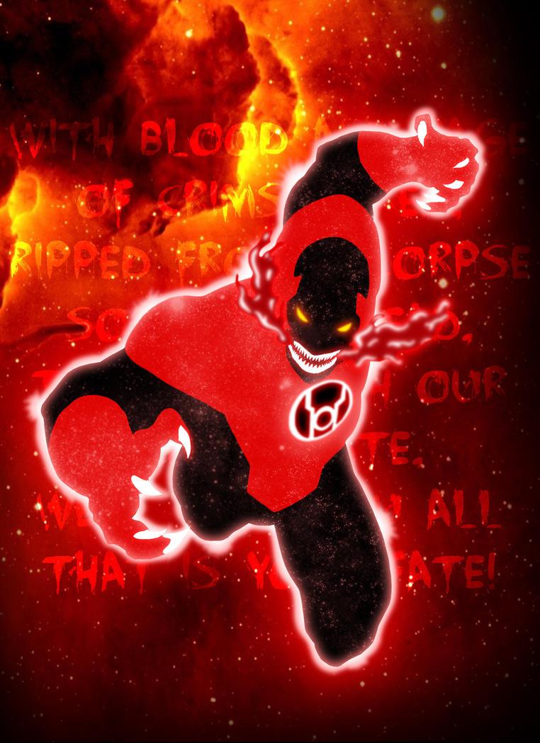 Red Lantern by grivitt