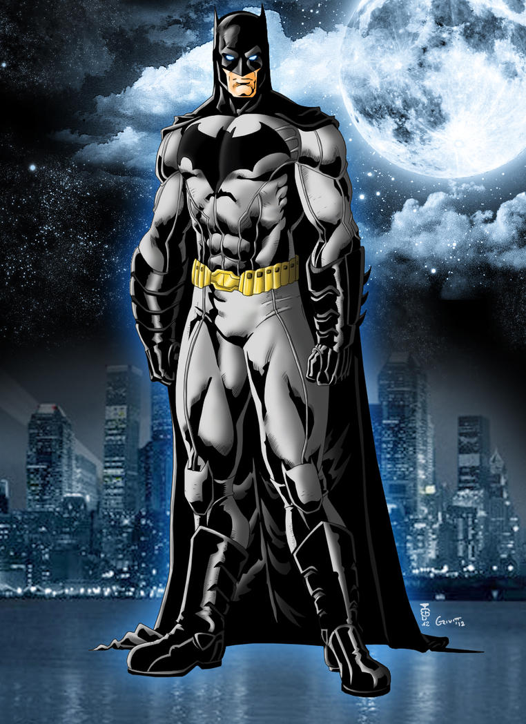 new 52 batman by grivitt on deviantart