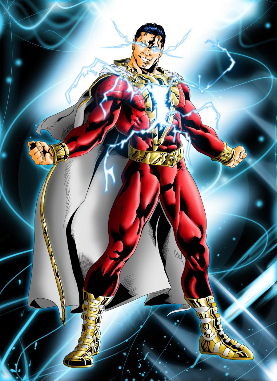 Shazam New 52 New 52: Shazam by griv...